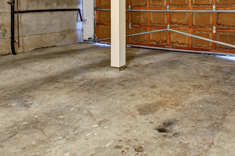 Cleaning and sealing garage floors endur o seal usa 1 for Garage floor maintenance